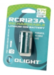 Olight RCR123A Litium-ion akku (650 mAh)